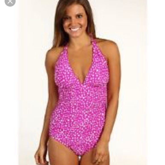 60f92288633 Athena Swim   Halter Top Bathing Suit   Poshmark
